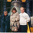 Mom, Cynthya and George
